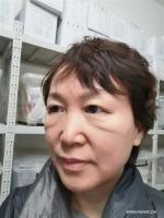 ممرضة تكافح لمعالجة المصابين بفيروس كورونا الجديد في ووهان .jpg