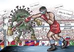 (وسائط متعددة) رسم كرتوني حول مكافحة الفيروس- النصر النهائي حليف الشعب الصيني بوقوف العالم أجمع إلى جانبه .png