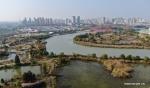 مناظر خلابة لحديقة في مدينة يانغتشو بمقاطعة جيانغسو .jpg