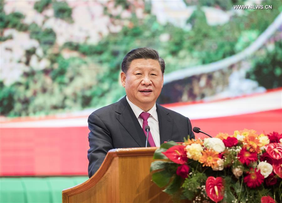 شي وقادة ميانمار يحتفلون بالذكرى الـ70 لإقامة العلاقات الدبلوماسية .jpg