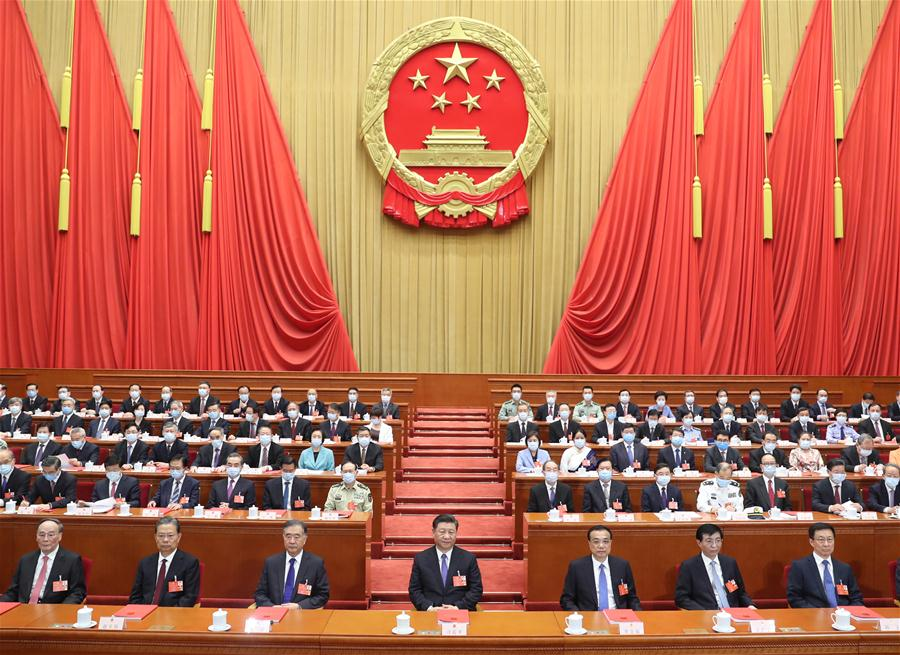 الهيئة التشريعية الوطنية الصينية العليا تختتم دورتها السنوية .jpg